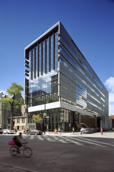 Schulich School of Music and Marvin Duchow music library, McGill University