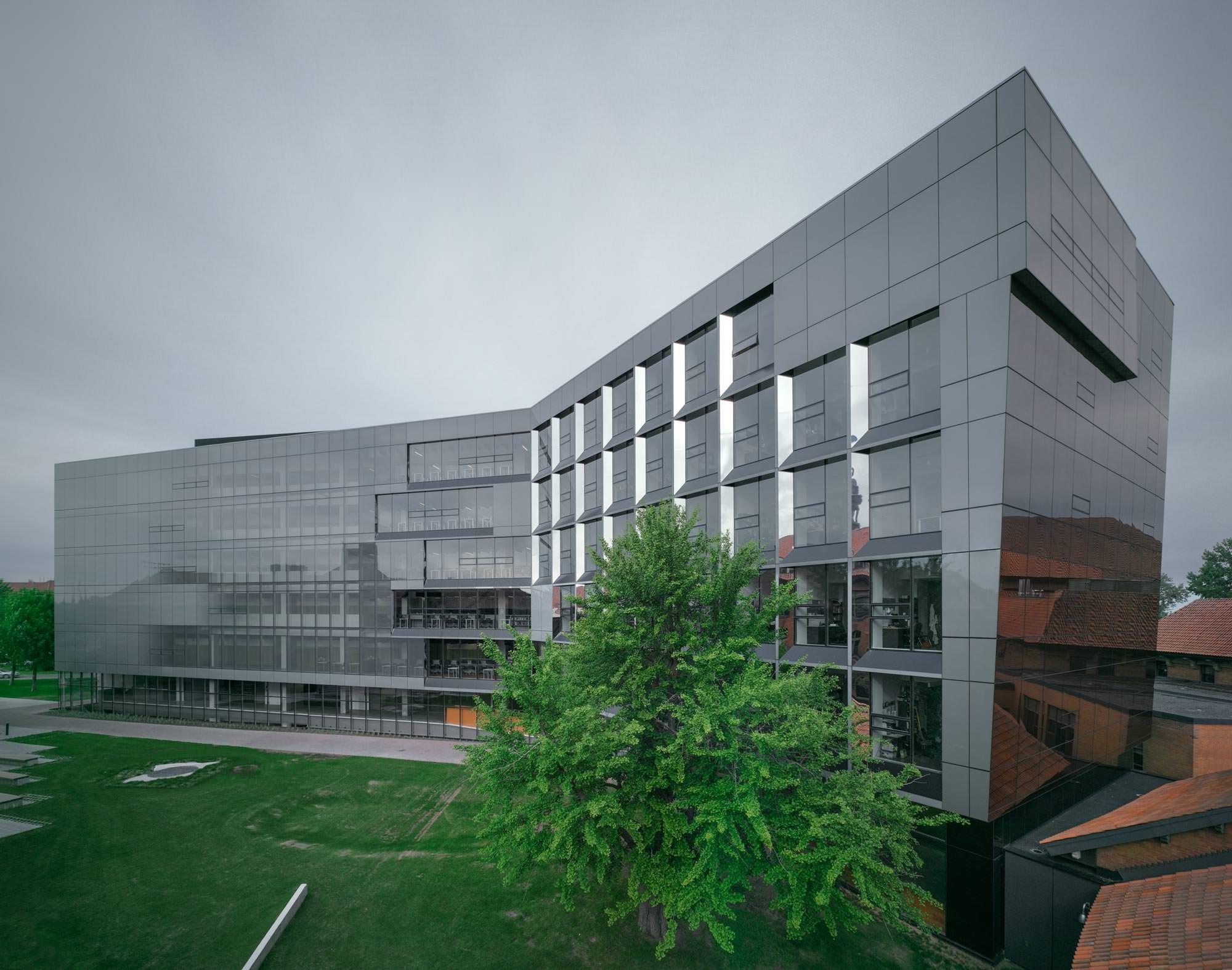 Anne Marie Edward Science Building At John Abbott College